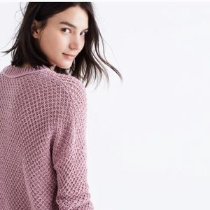 Madewell French quarter pullover sweater cotton S